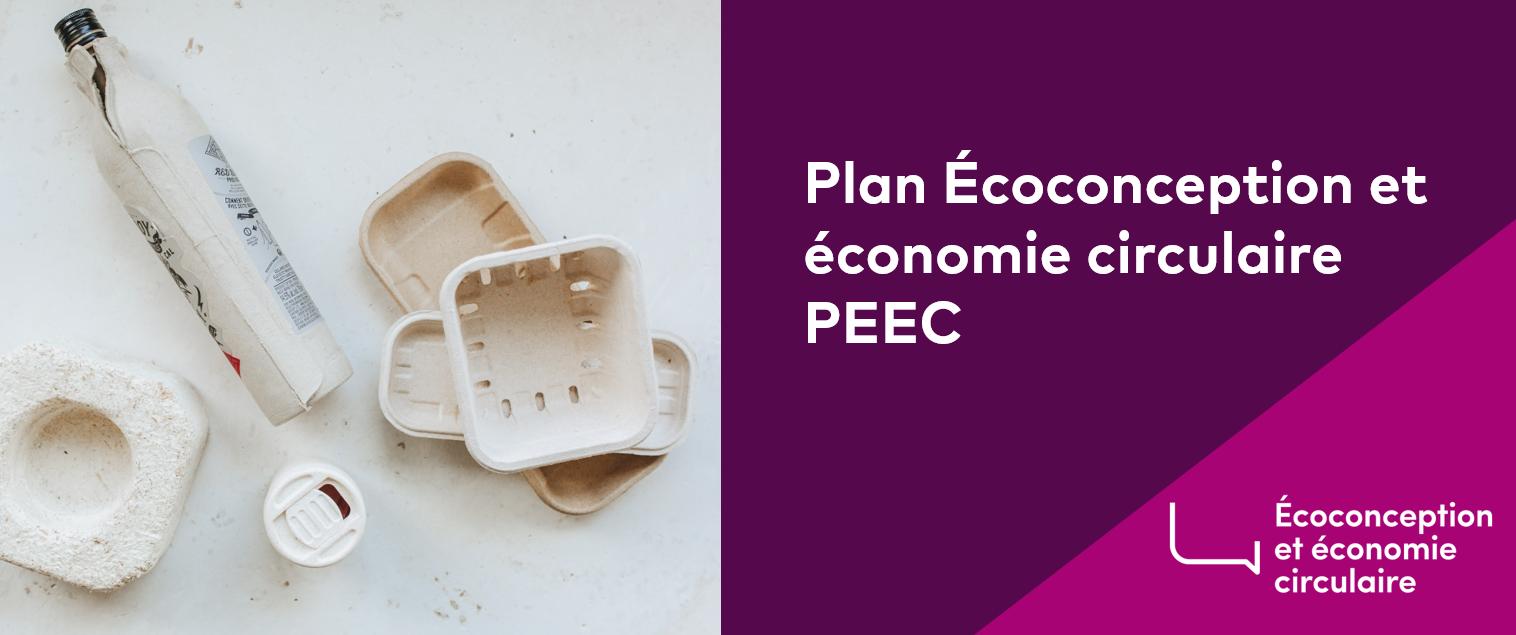 Plan Écoconception et économie circulaire (PEEC)